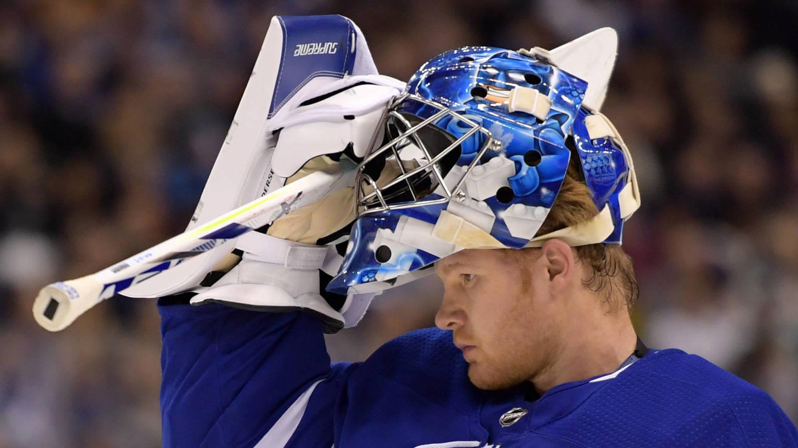 Hurricanes Interested In Leafs Goaltender Frederik Andersen Yardbarker