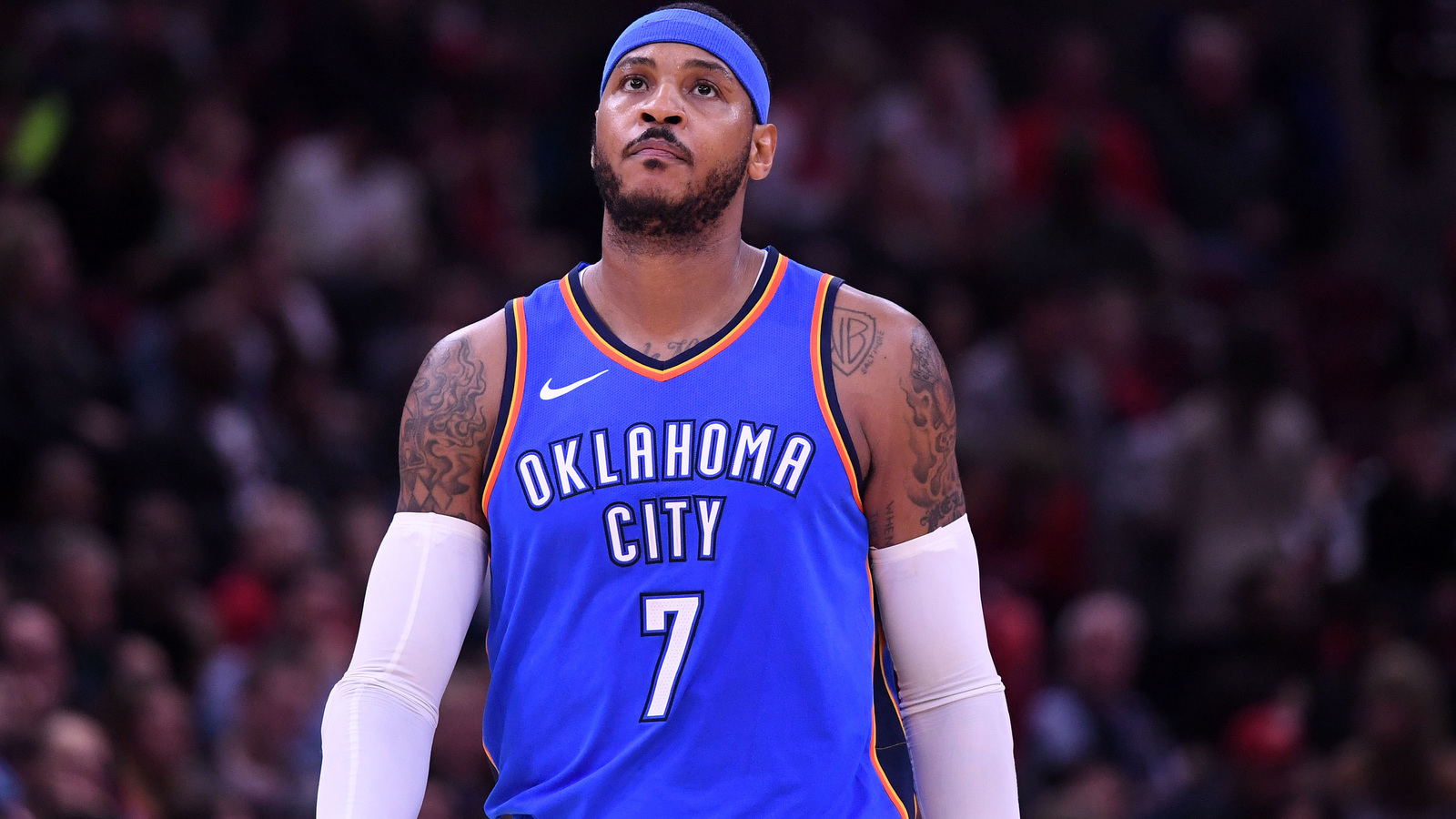 WATCH: Carmelo Anthony ejected after ridiculous flagrant ...
