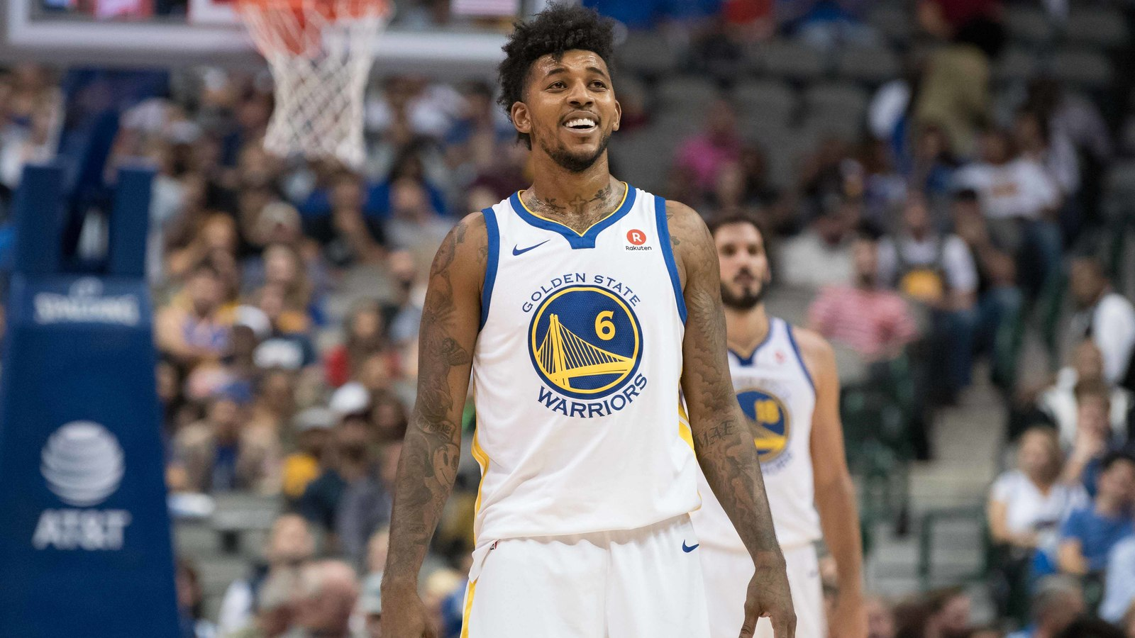 Nick Young appears to throw shade at Byron Scott