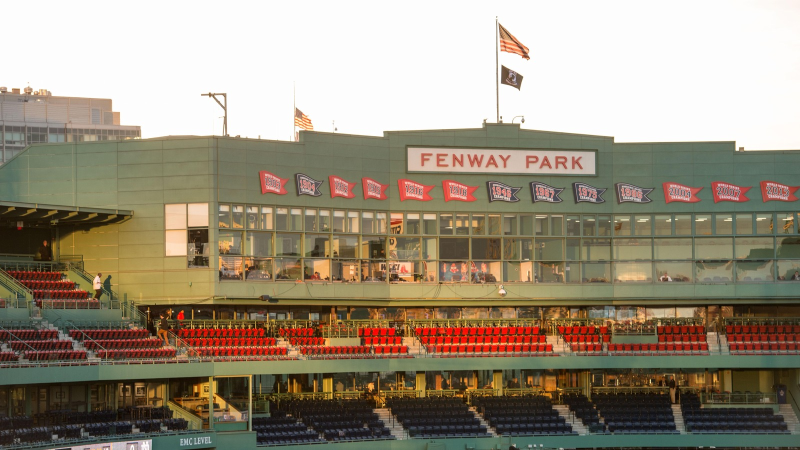 The Las Vegas Gunman Reportedly Was Researching Hotels Around Fenway Park Matt Cas Usa Today Sports