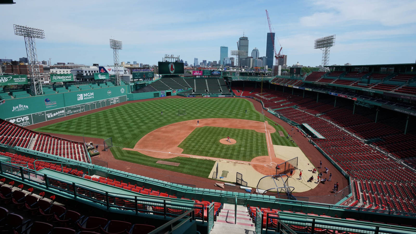 Flipboard Fenway Park Experimenting With Pumped In Crowd Noise For 2020 Mlb Season