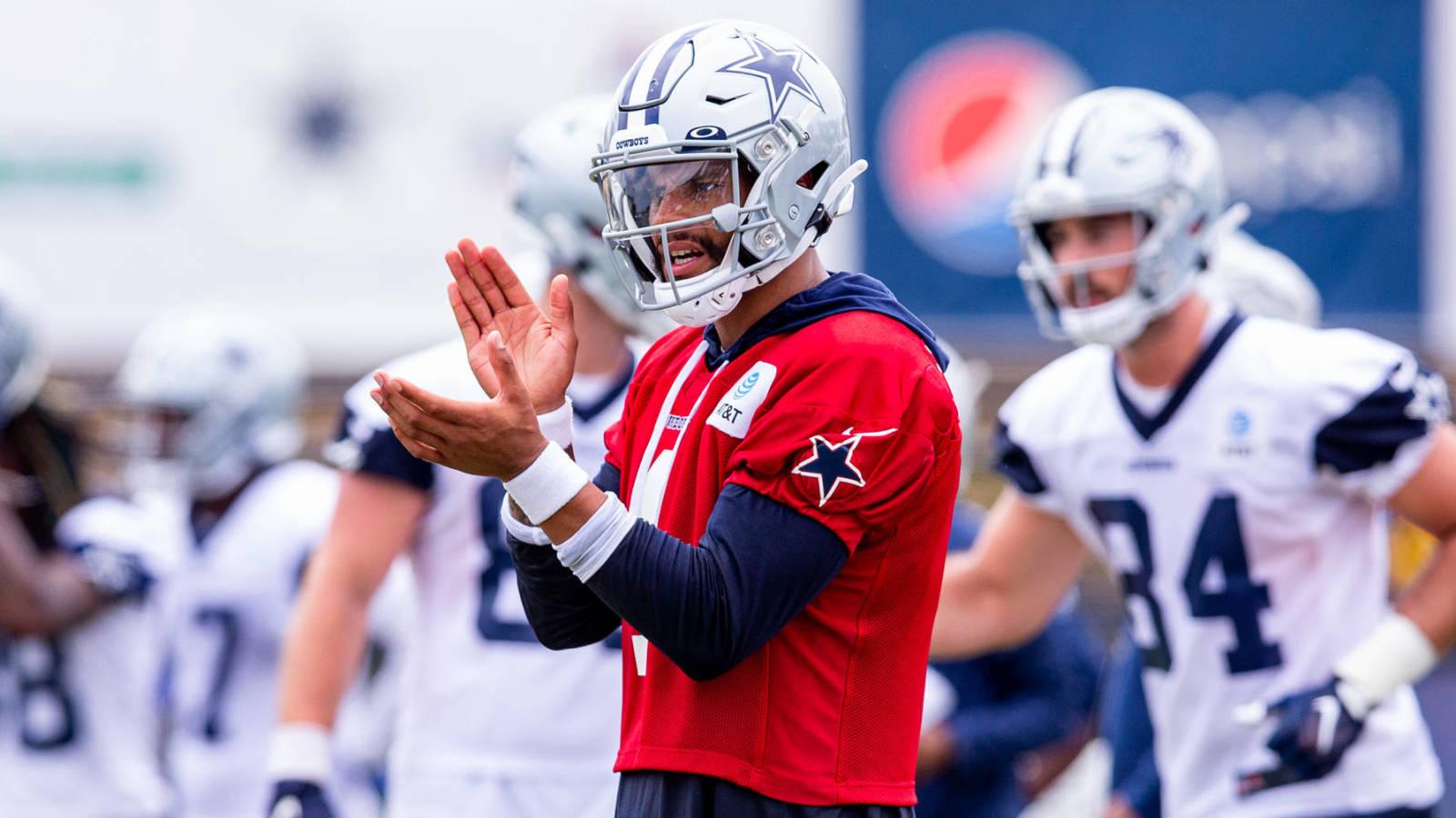 Cowboys hope QB Dak Prescott is ready for Week 1