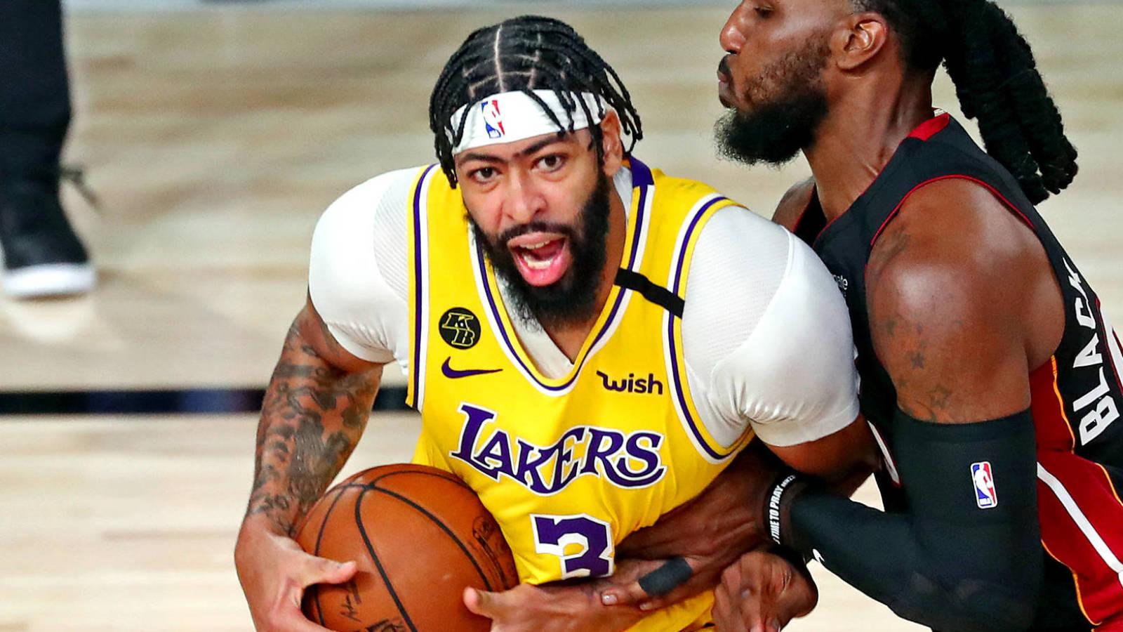Winners Losers From Lakers Game 1 Win Vs Heat Yardbarker