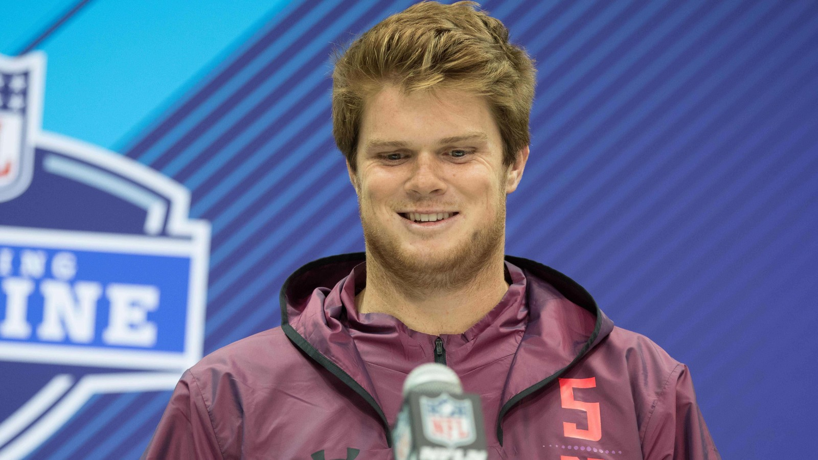 Is sam darnold tipping his landing spot with draft day for Knights landing fishing report