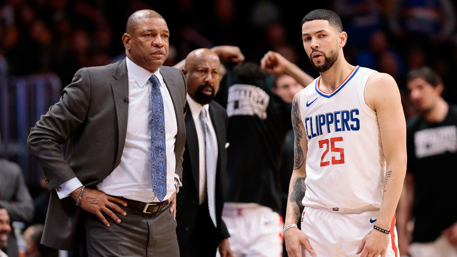 Twitter Reacts To Clippers Trading Austin Rivers Son Of Hc Doc