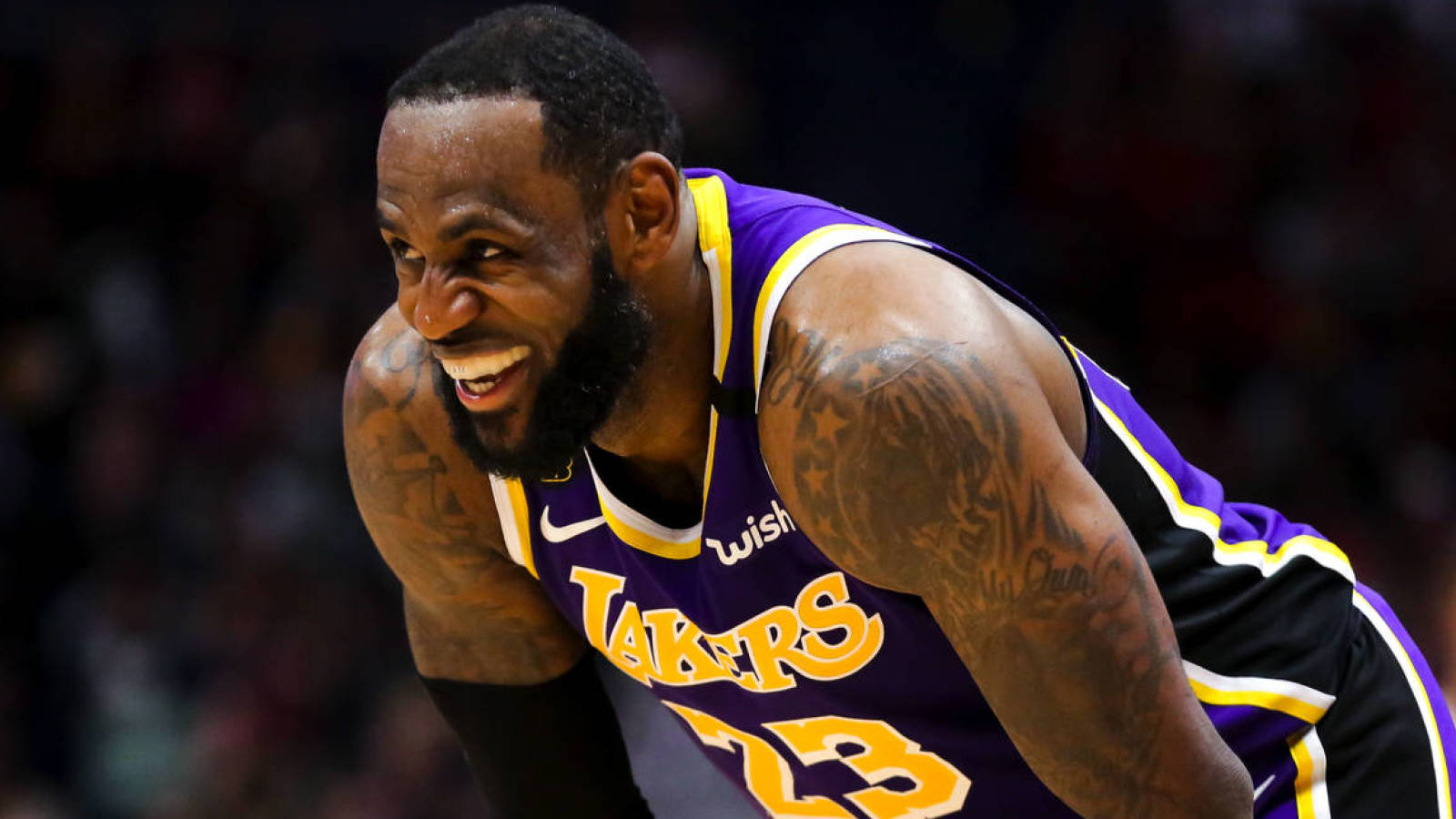 LeBron James has message for those who say he is too friendly with opponents