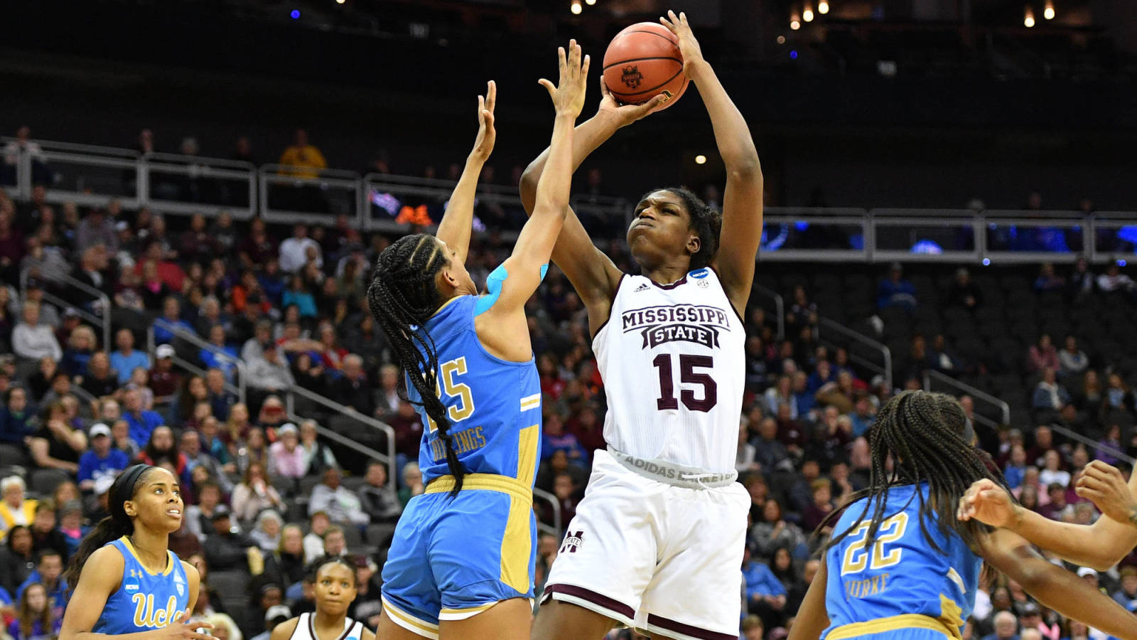 Mississippi State 73, Louisville 63, women's college basketball final