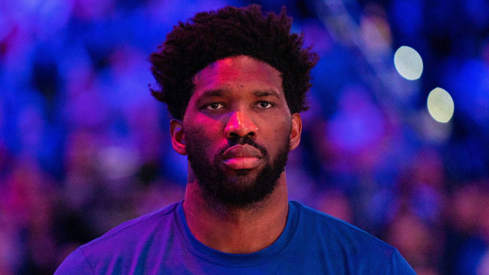 Report: Joel Embiid out at least one week with left shoulder sprain
