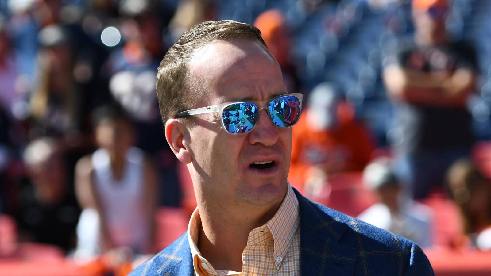Amazon May Seek Peyton Manning As Principal NFL Analyst