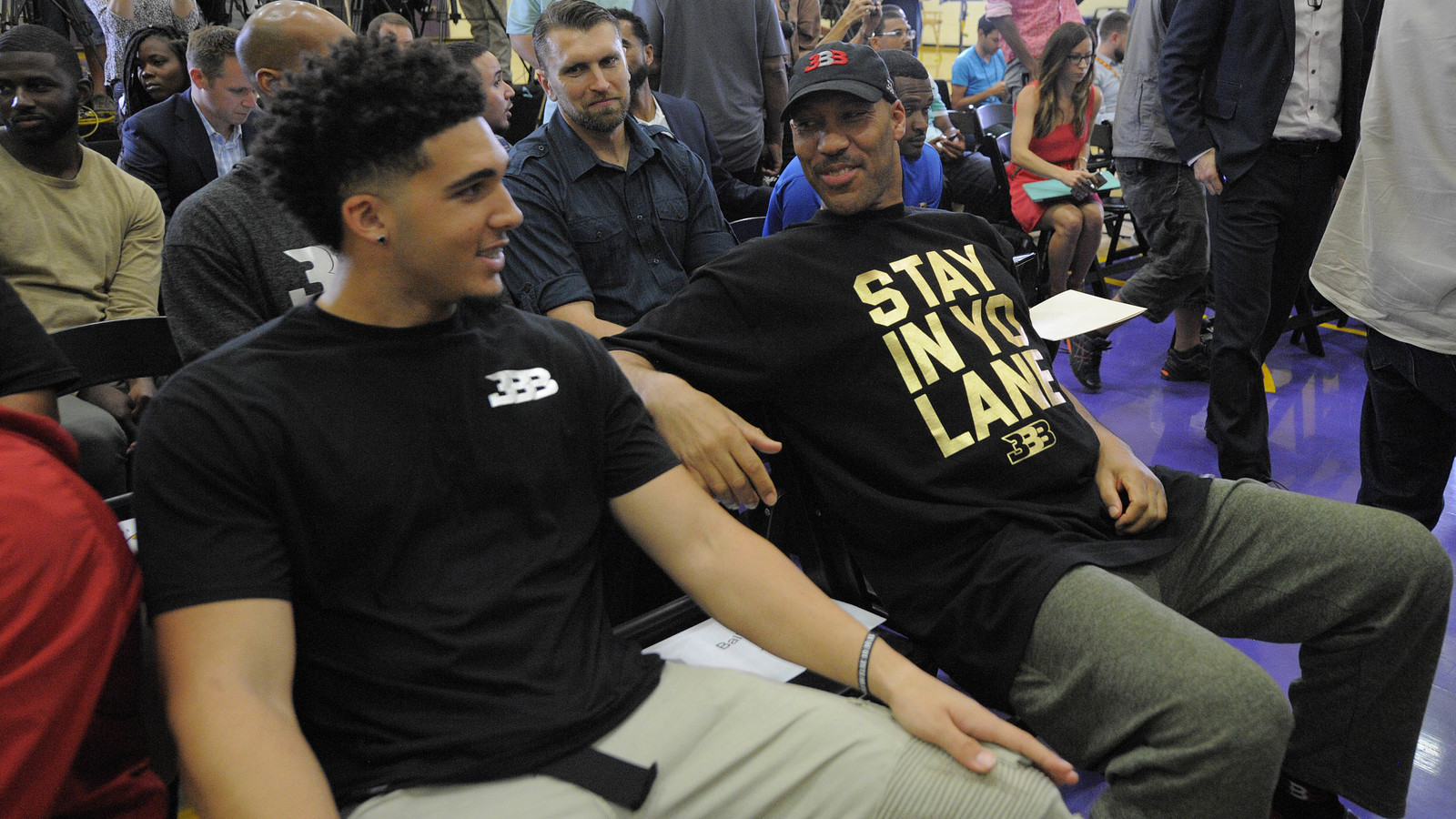 LaVar Ball downplays President Trump\u0027s role in helping son ...