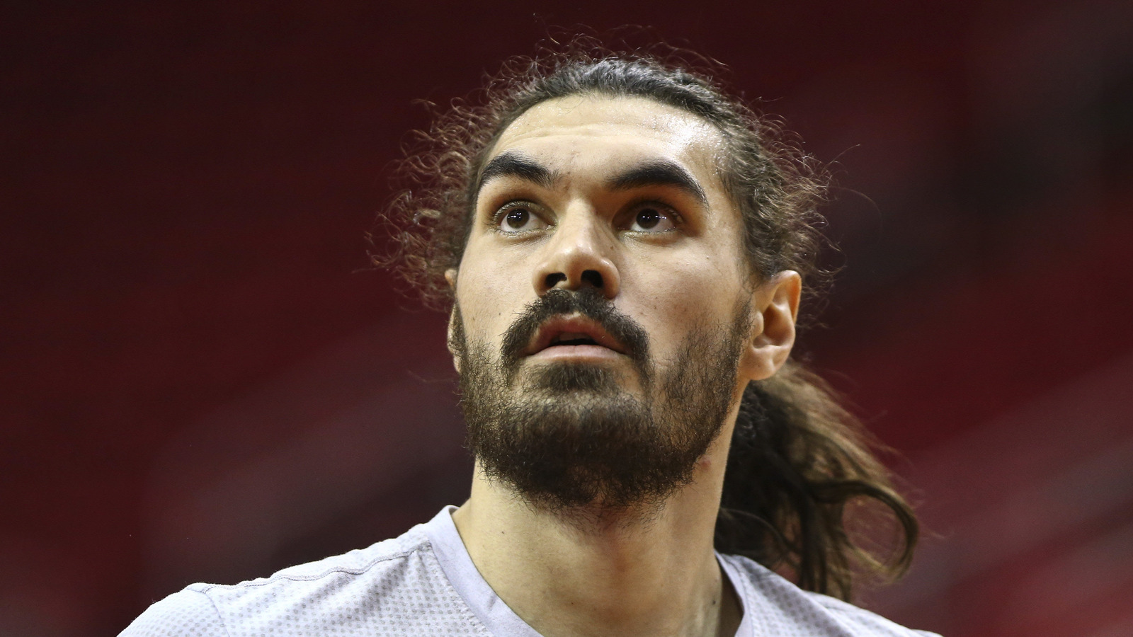 twitter reacts to steven adams shaving trademark mustache. Black Bedroom Furniture Sets. Home Design Ideas