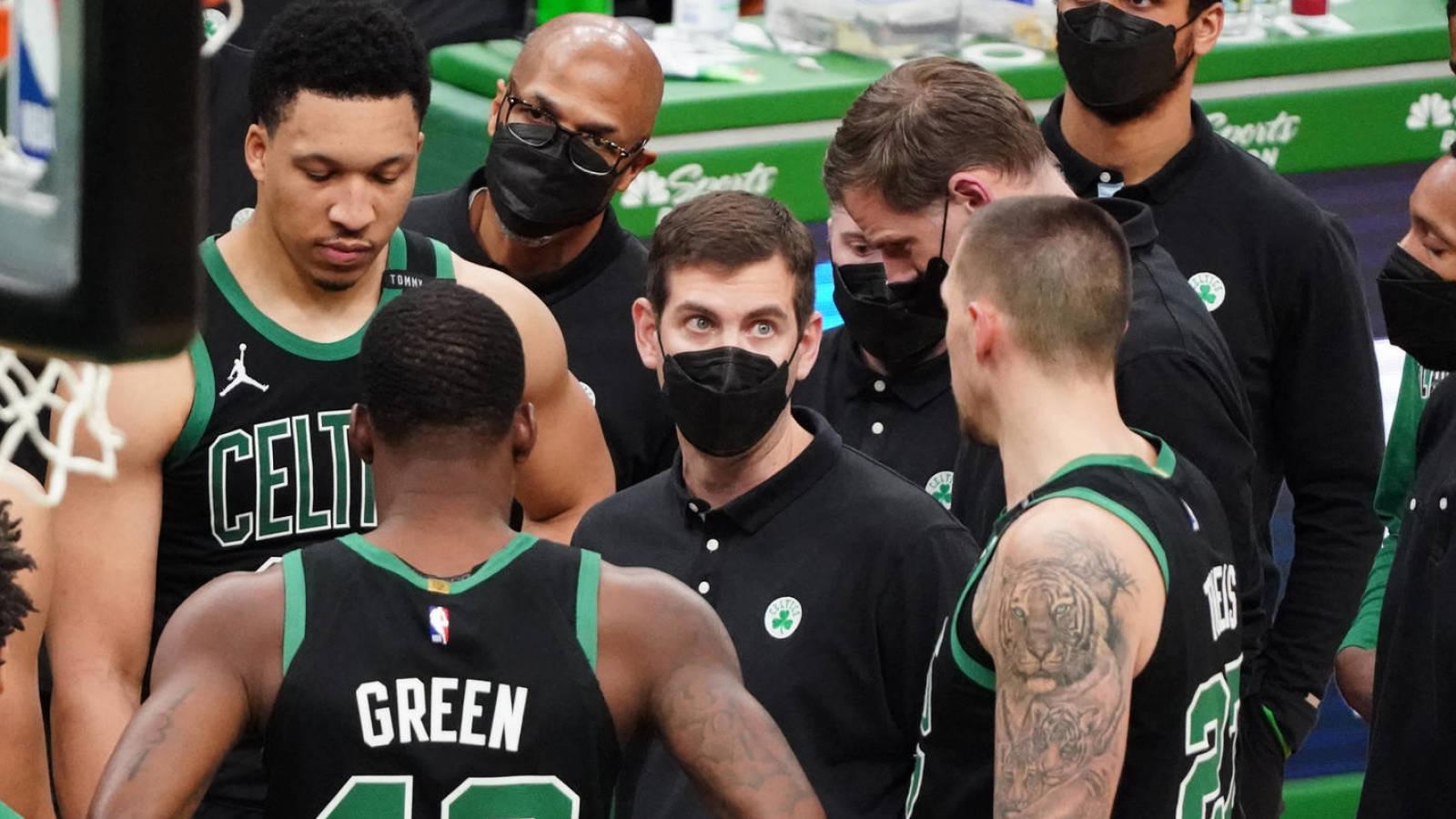 Brad Stevens responds to talk of Celtics players tuning him out - Yardbarker