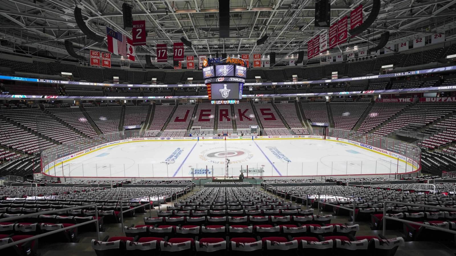 NHL postpones Hurricanes games through Jan. 23 in response to COVID-19