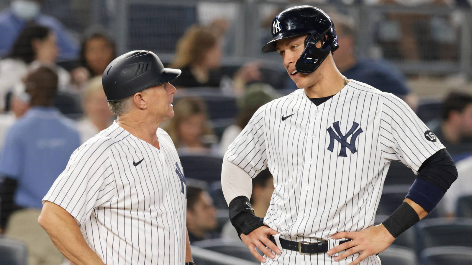 Aaron Judge agrees with Steinbrenner's comments