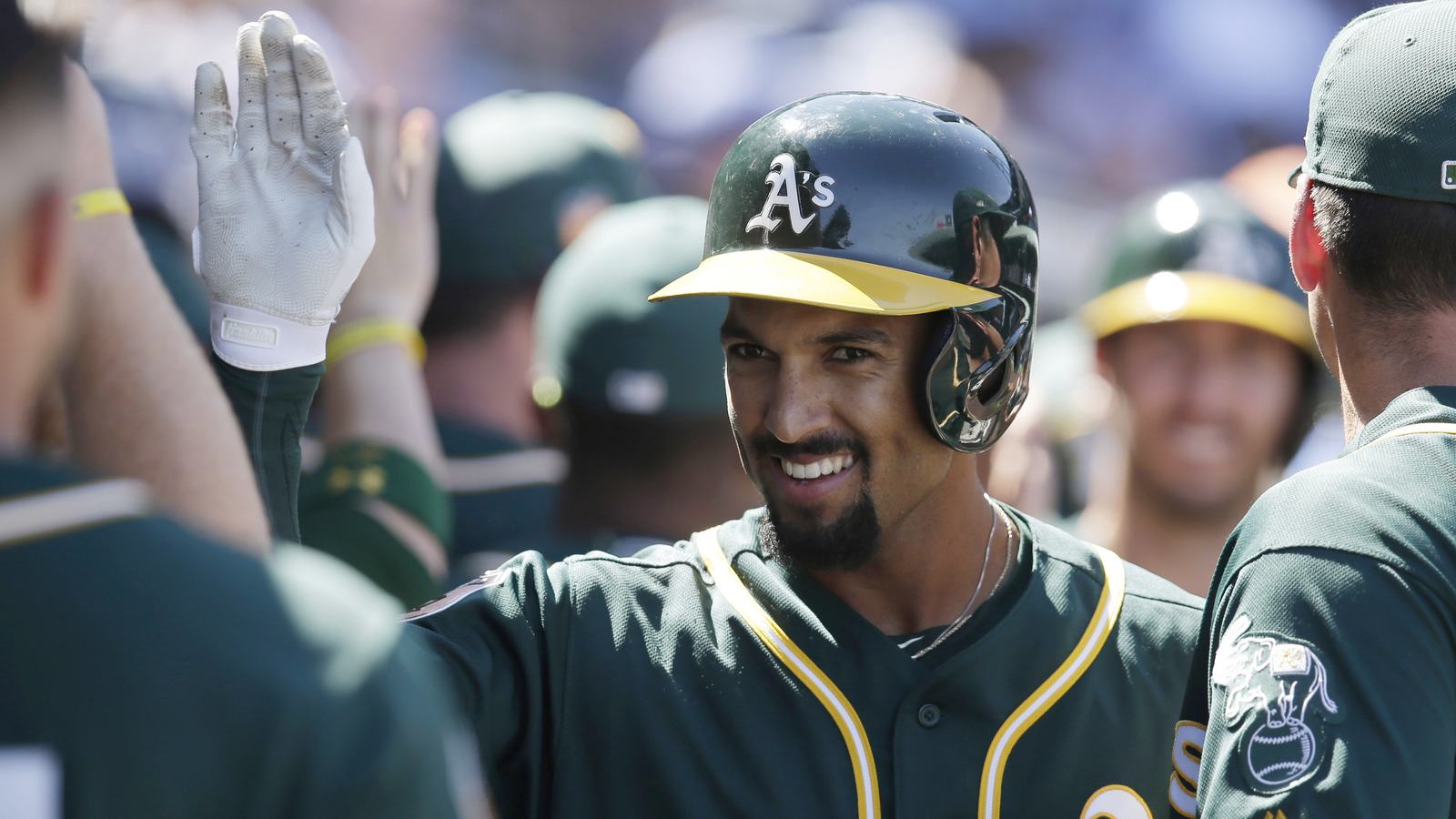 La clippers the impact of blake griffins surgery on the team foxsports com - Mar 29 2017 Mesa Az Usa Oakland Athletics Shortstop Marcus Semien 10 Celebrates With Teammates After Hitting A Two Run Home Run In The Third Inning
