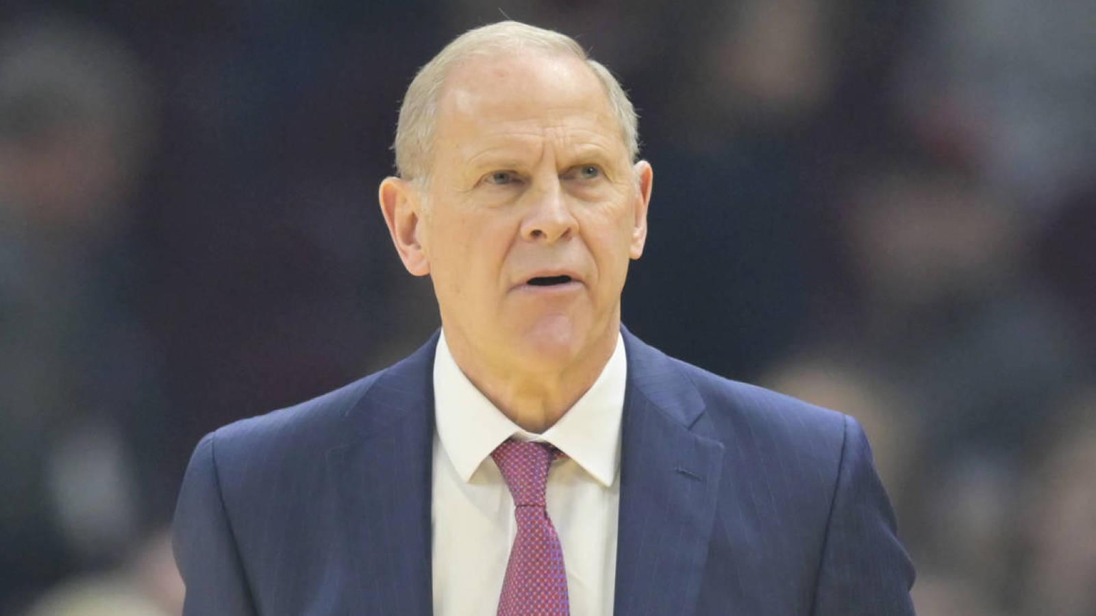 John Beilein resigns as Cavaliers head coach