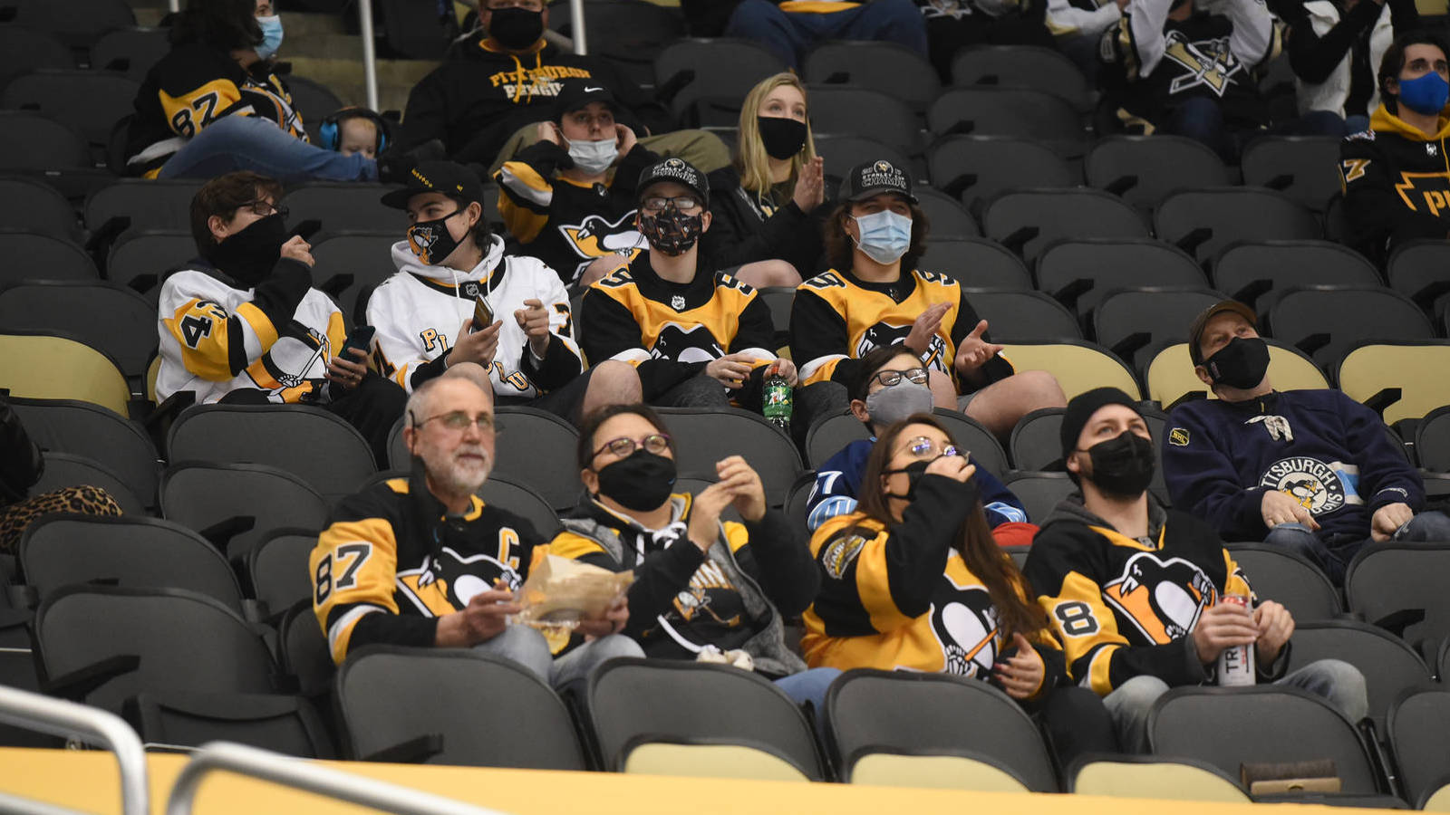 Penguins admit to adding masks onto fans in doctored pic