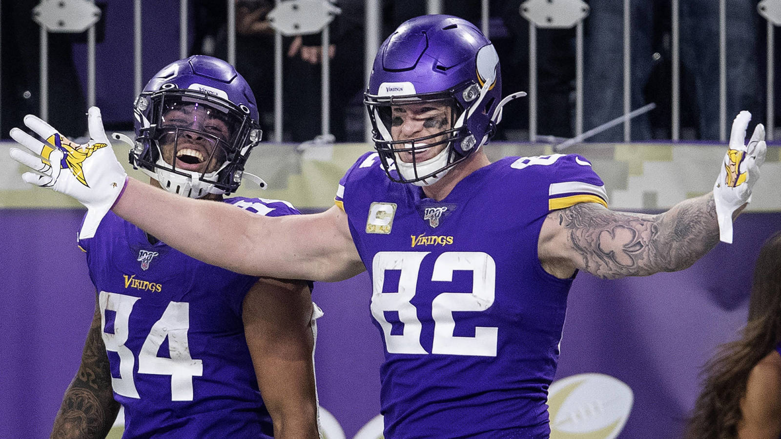 Vikings release two-time Pro Bowl TE Kyle Rudolph