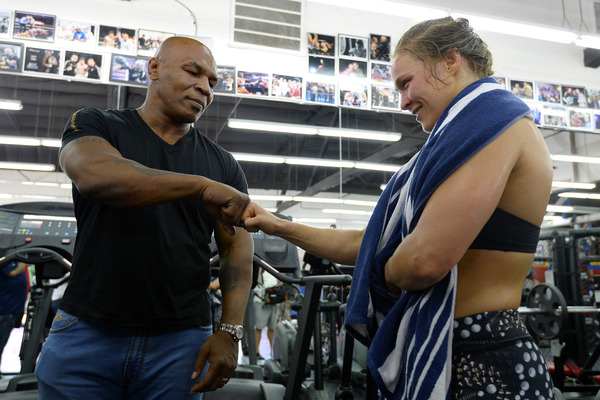 Mike tyson still supports ronda rousey after loss for Tyson motors service hours