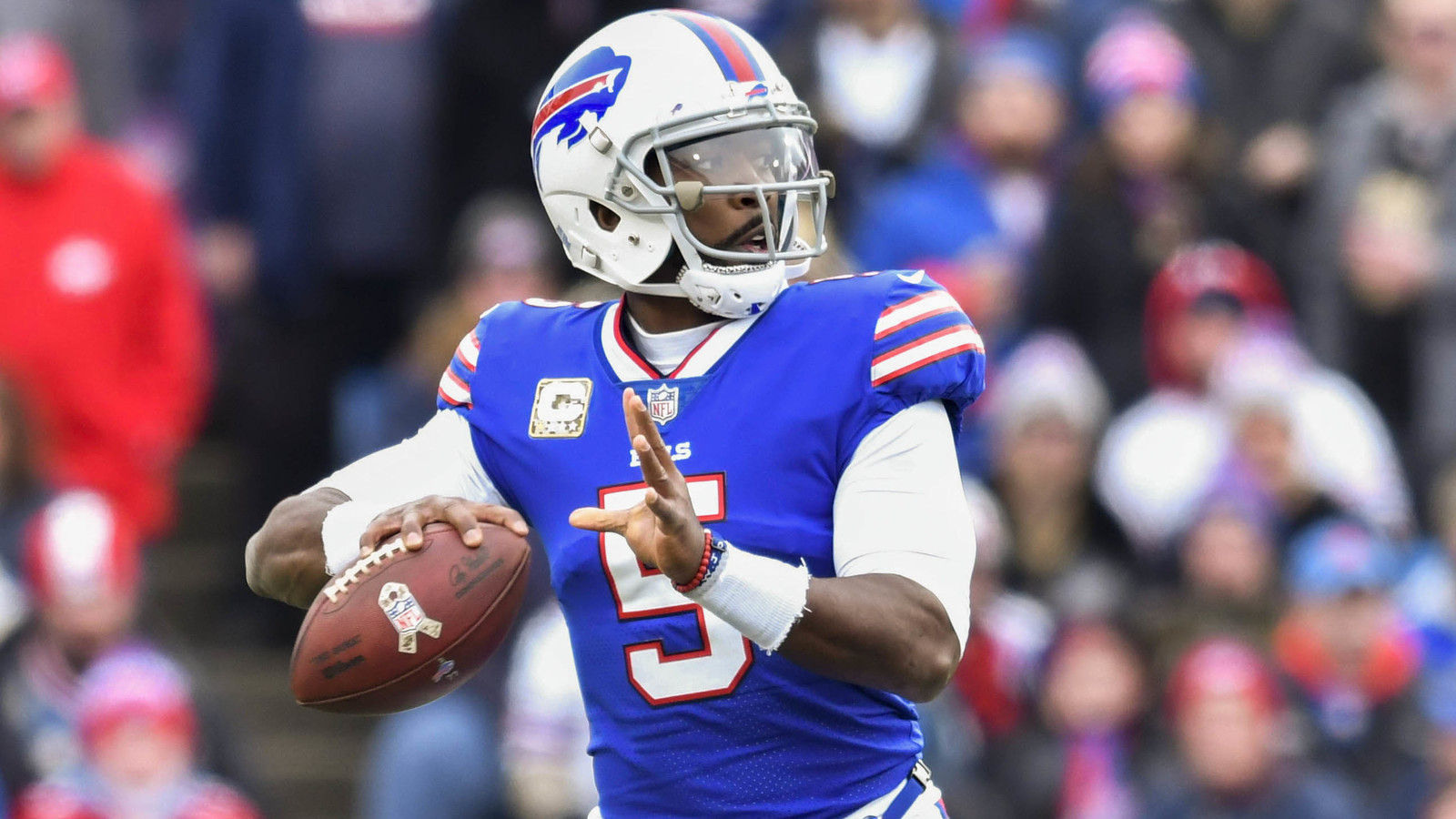 Bills benching Tyrod Taylor in favor of rookie Nathan ...