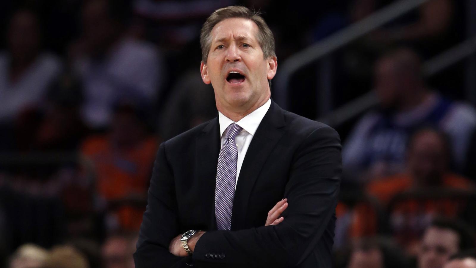 Knicks head coach Jeff Hornacek speaks up about Triangle fense