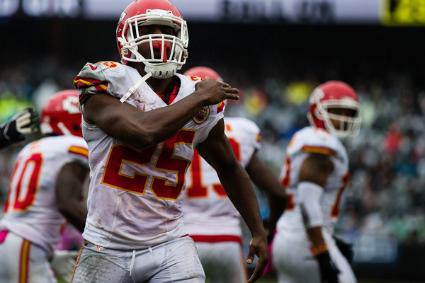 Another knee surgery for Chiefs' Jamaal Charles