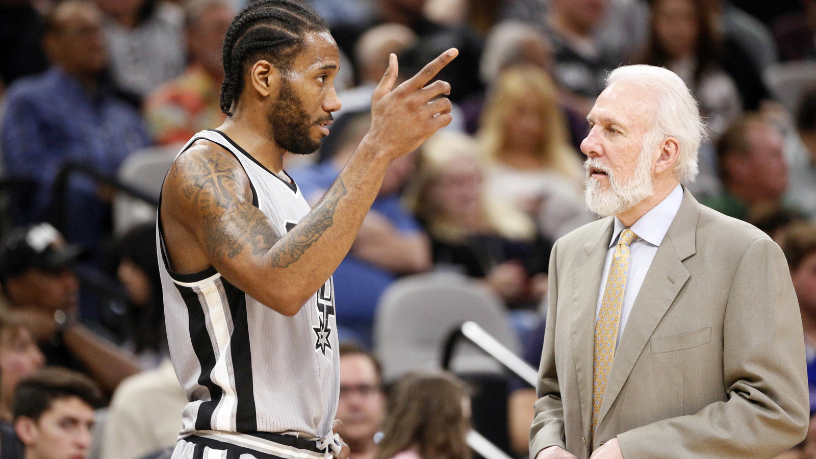 Popovich reportedly didn't even want Kawhi at practices