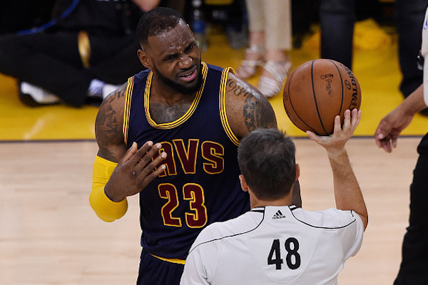 NBA admits referees missed four calls in Game 2 of Finals ...