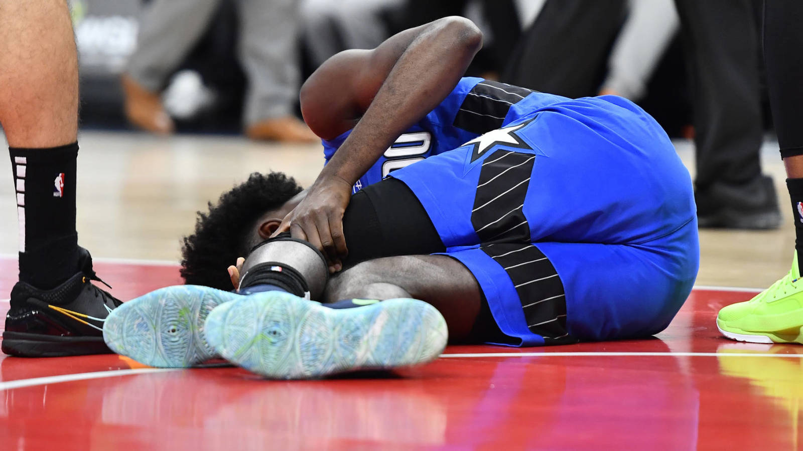 Magic's Jonathan Isaac says he could return from injury when play resumes