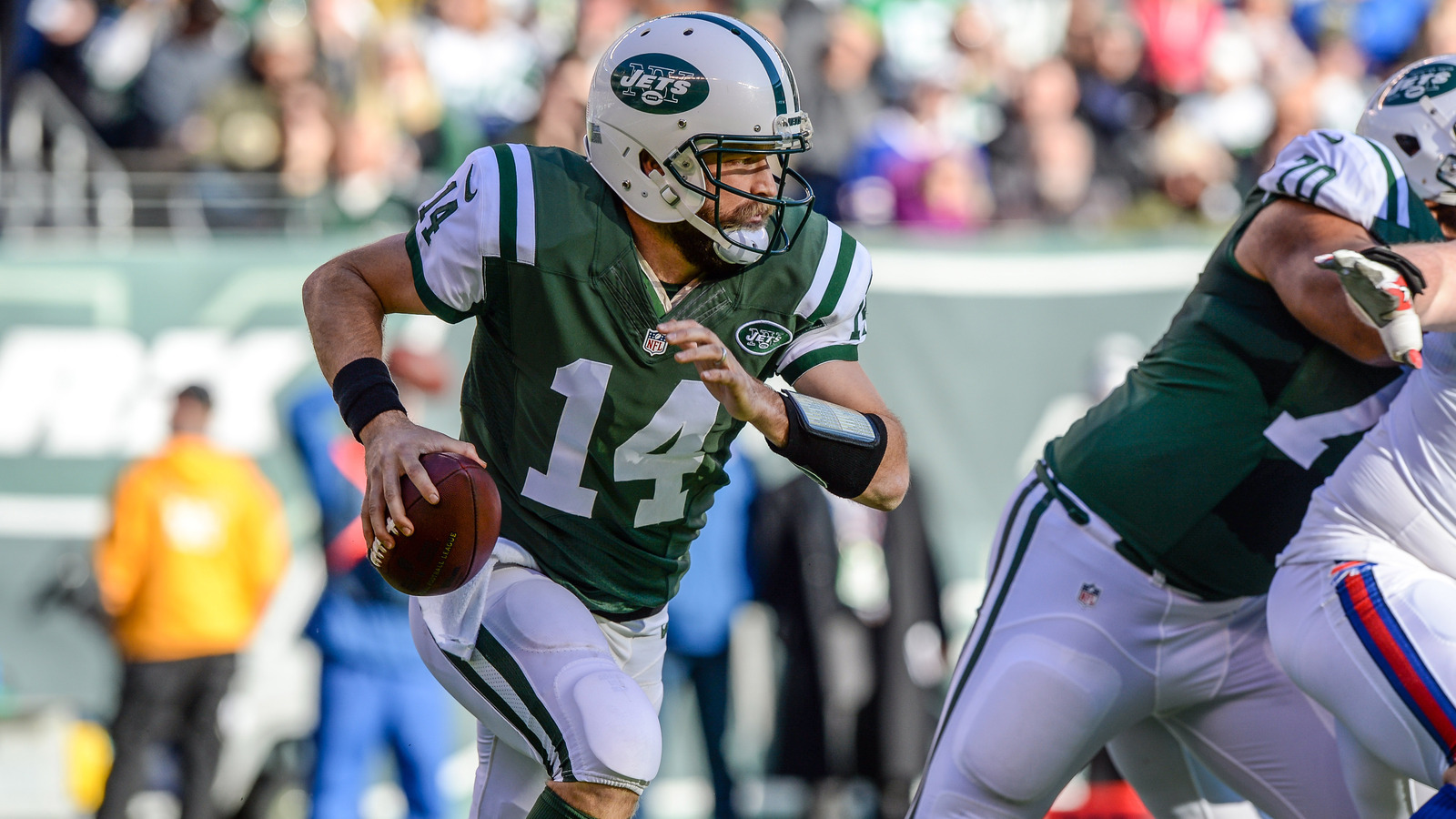 Ryan Fitzpatrick's contract voids, now a free agent