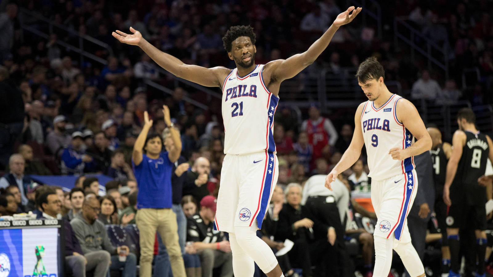 Joel Embiid's All-Star selection a testament to his dedication
