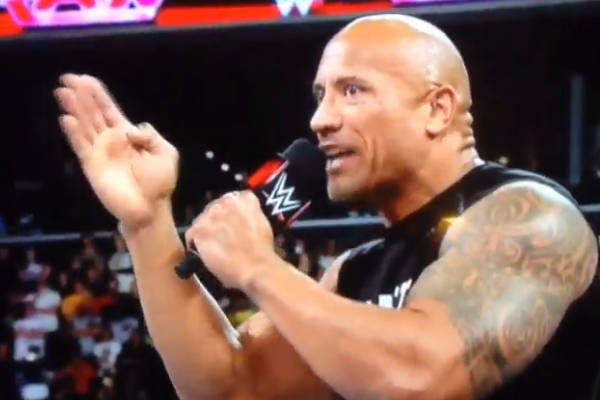 The Rock Makes Surprise Raw Return Starts Derek Jeter