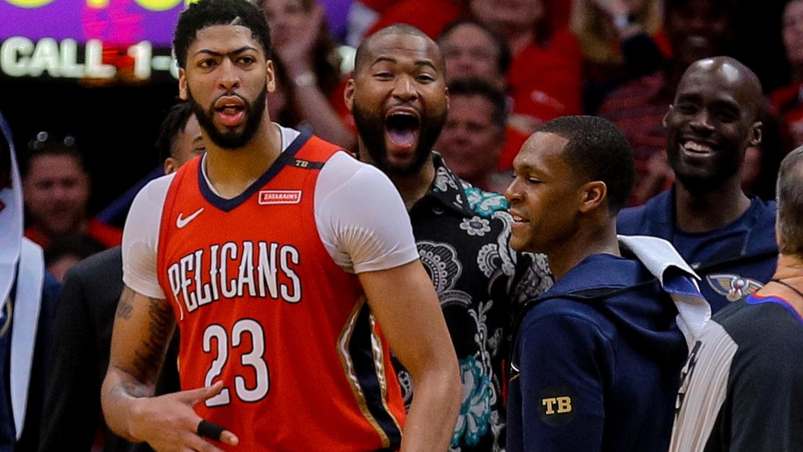 Davis' 47 leads Pelicans' sweep