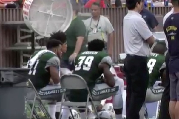 Hawaii Coach Has Benches Removed At Halftime Of Loss