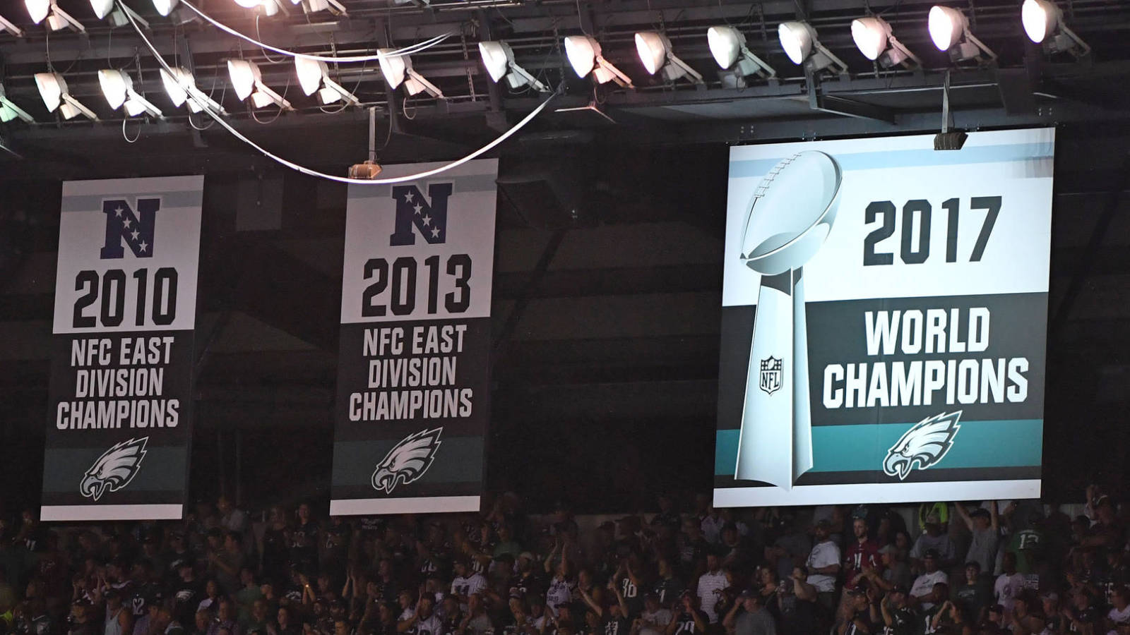 Image result for eagles super bowl banner