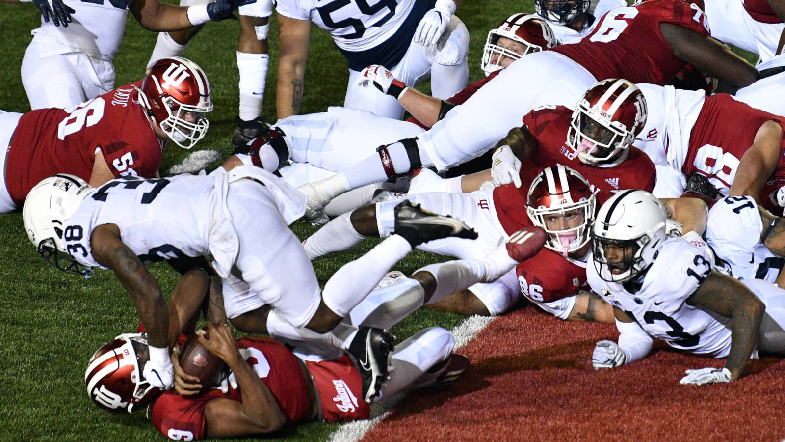 Indiana upsets Penn State after favorable call on Michael Penix Jr. two-point conversion