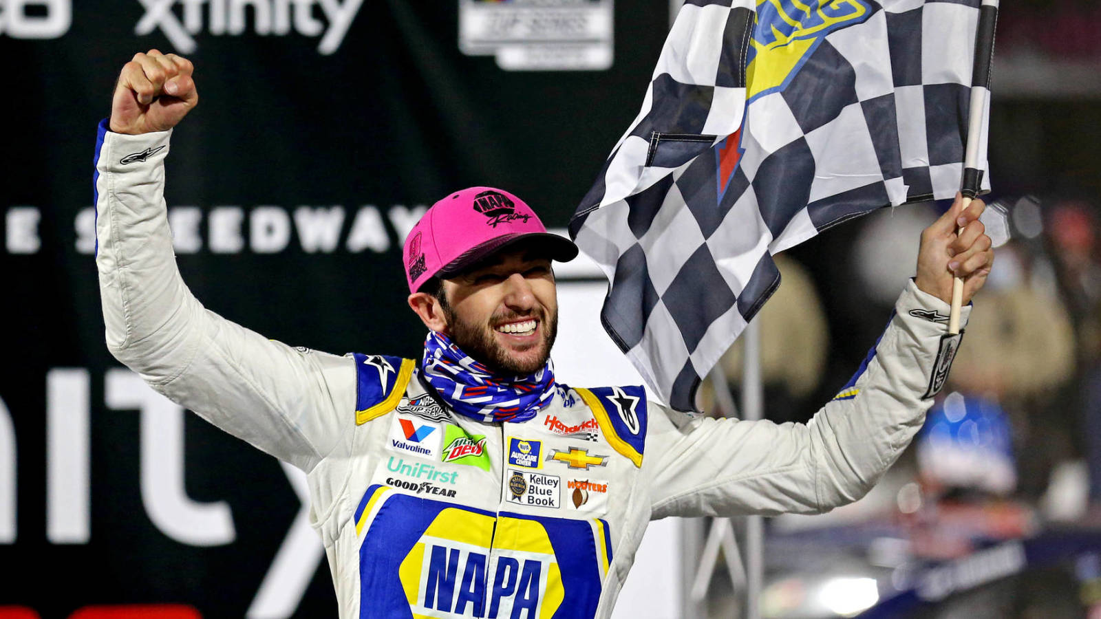 Watch: Chase Elliott celebrates first NASCAR Cup Series championship