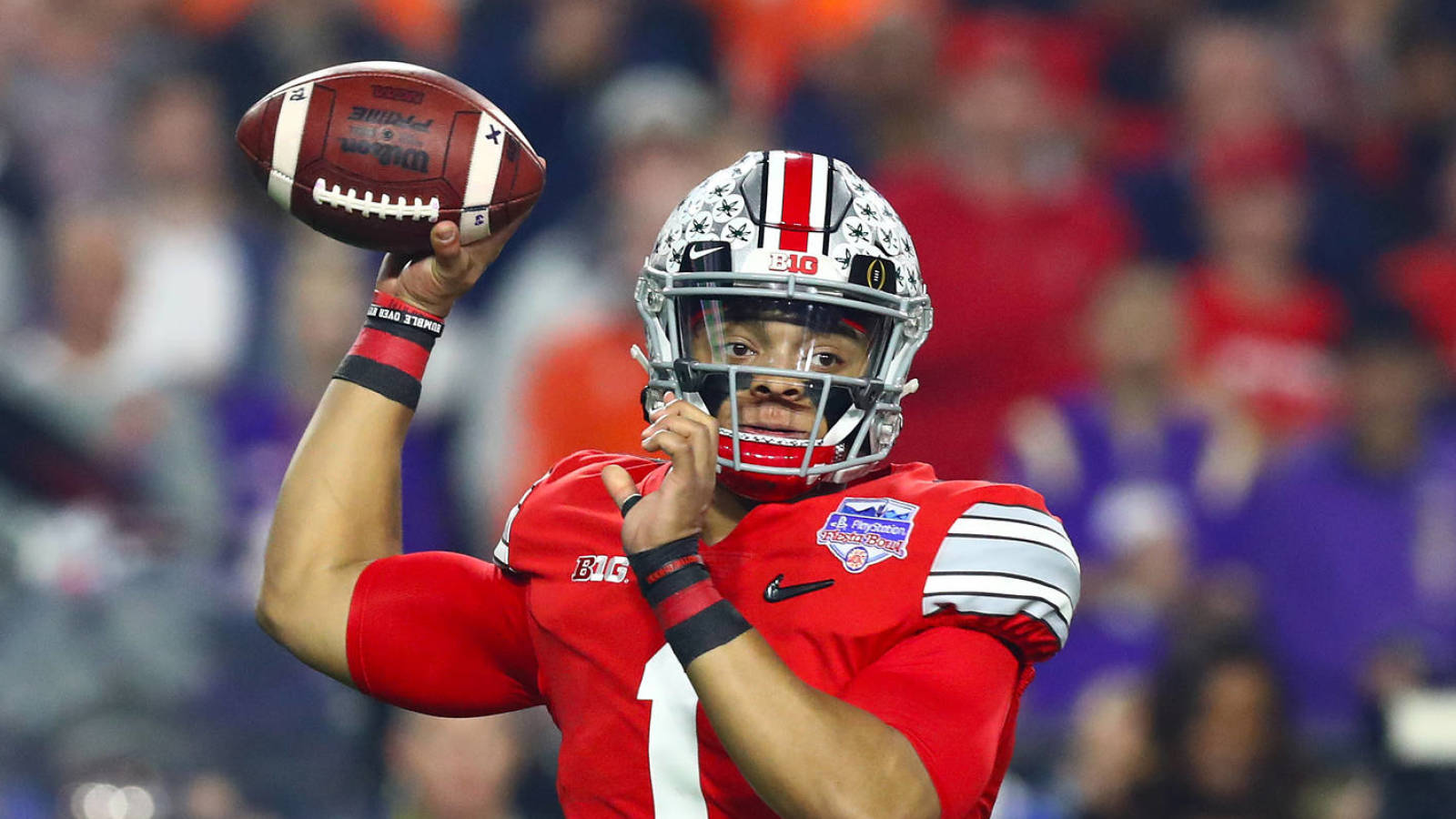 Justin Fields Has unfinished Business At Ohio State Yardbarker