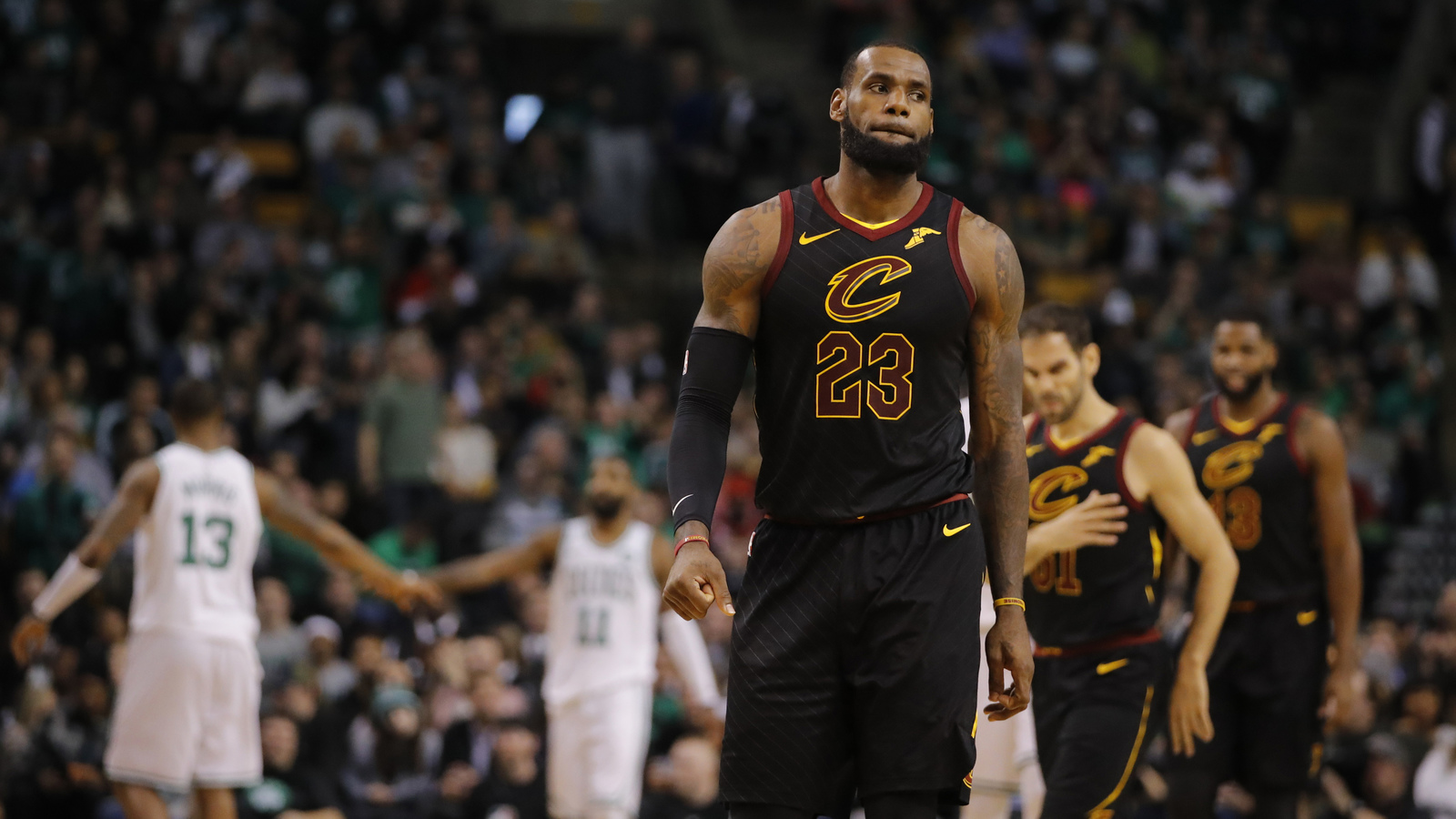 LeBron James didn't want Cavs to trade Kyrie Irving