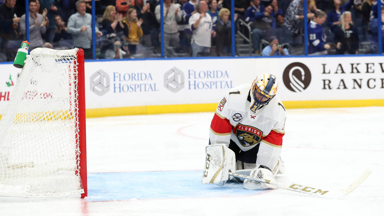 2ca19c7f9 Florida Panthers reportedly seeking upgrade in goal