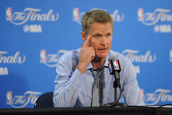 Steve Kerr shares strong thoughts on 'tough' election ...