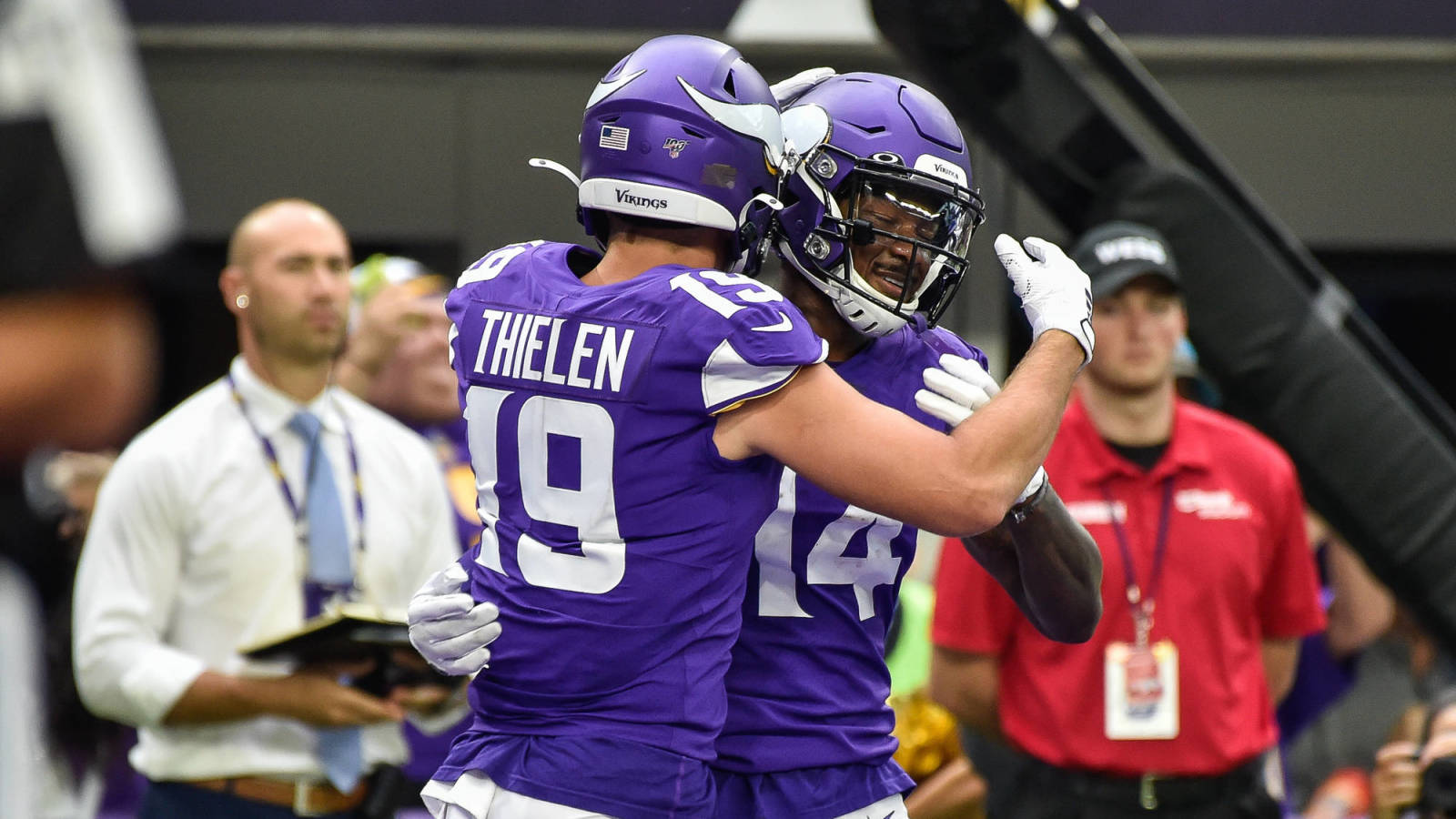 Former Vikings star says Stefon Diggs has issue with Adam Thielen