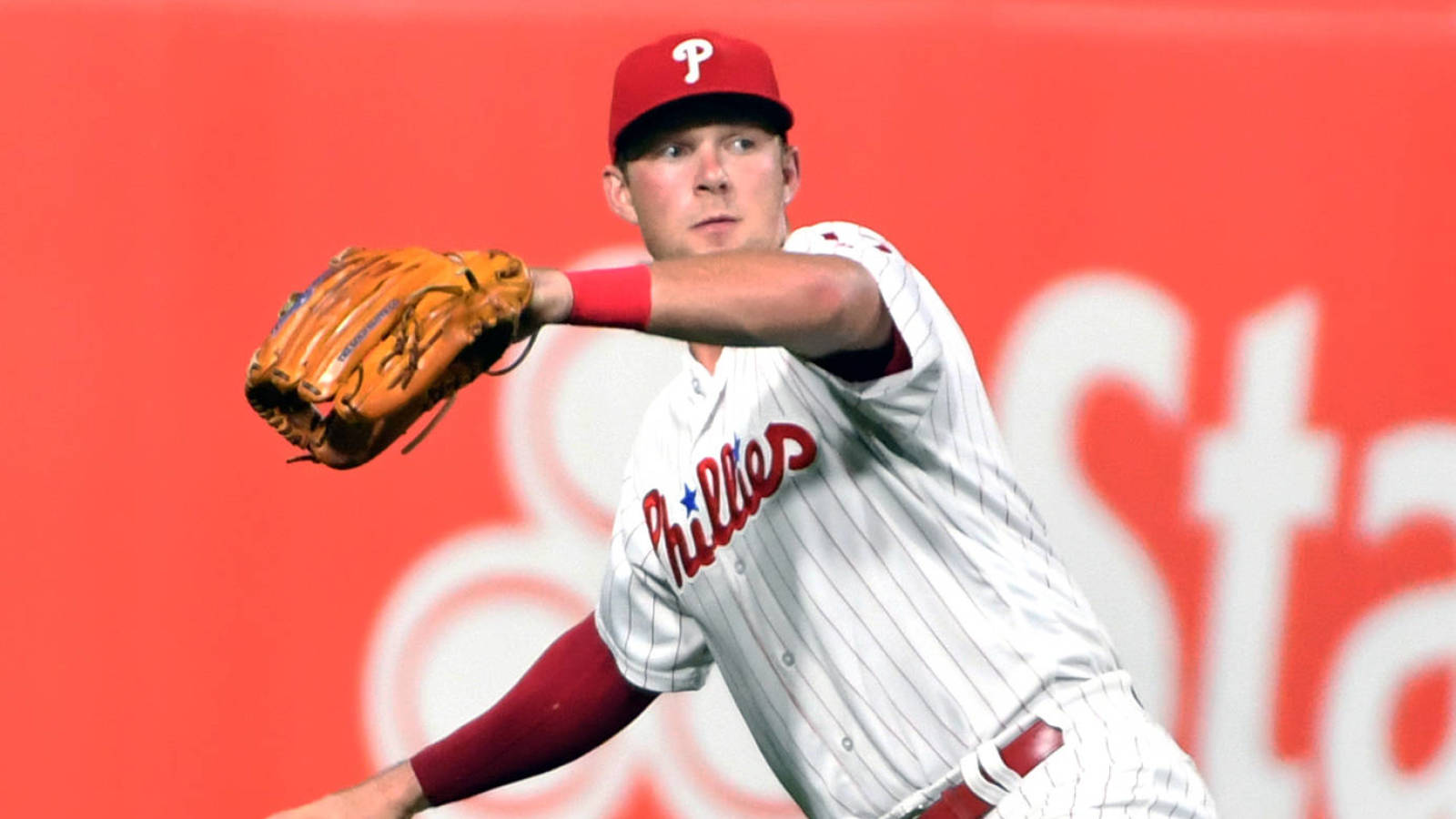Rhys Hoskins would prefer a return to first base