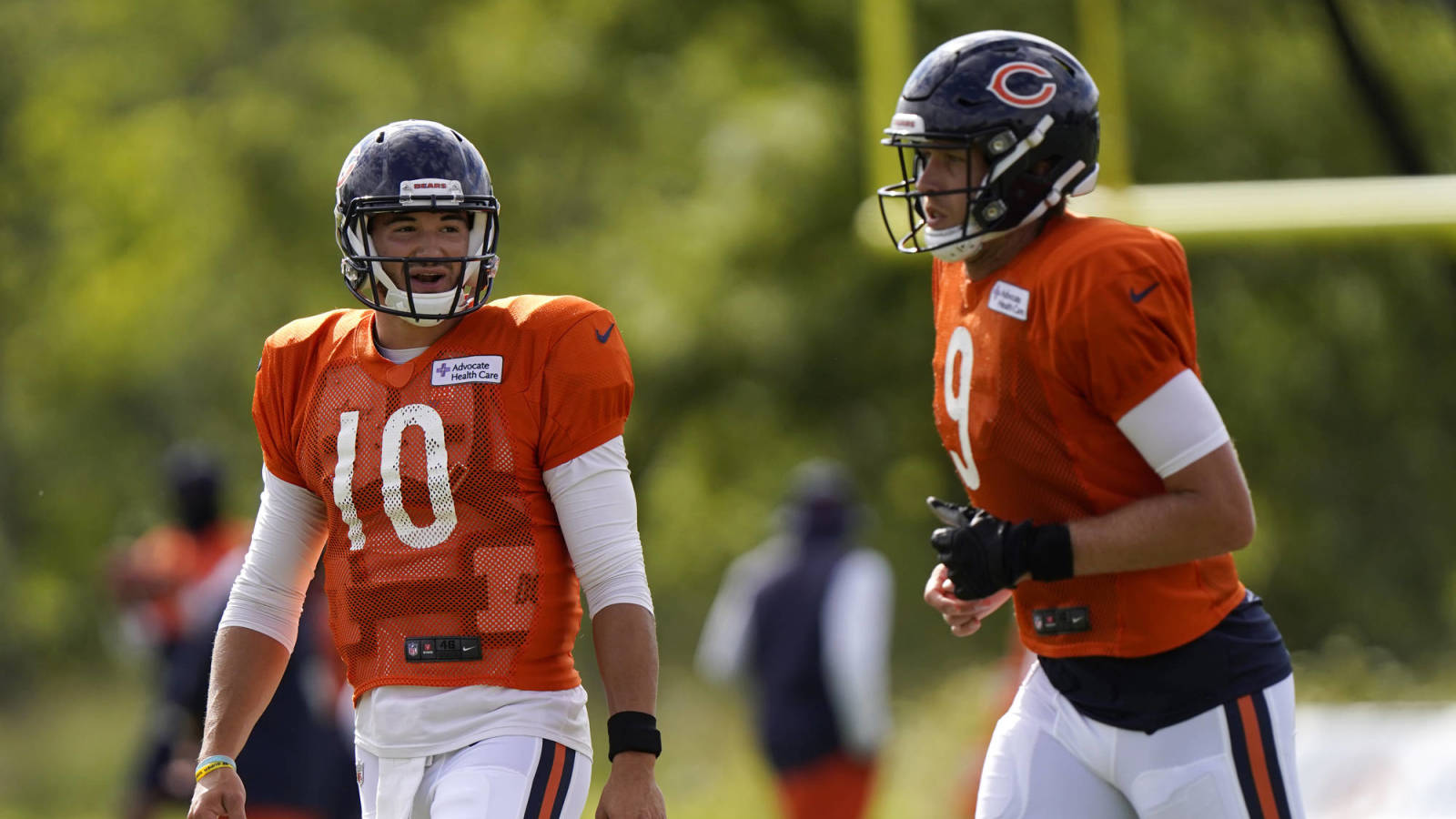 'Everything is on the table' for Bears at QB in 2021