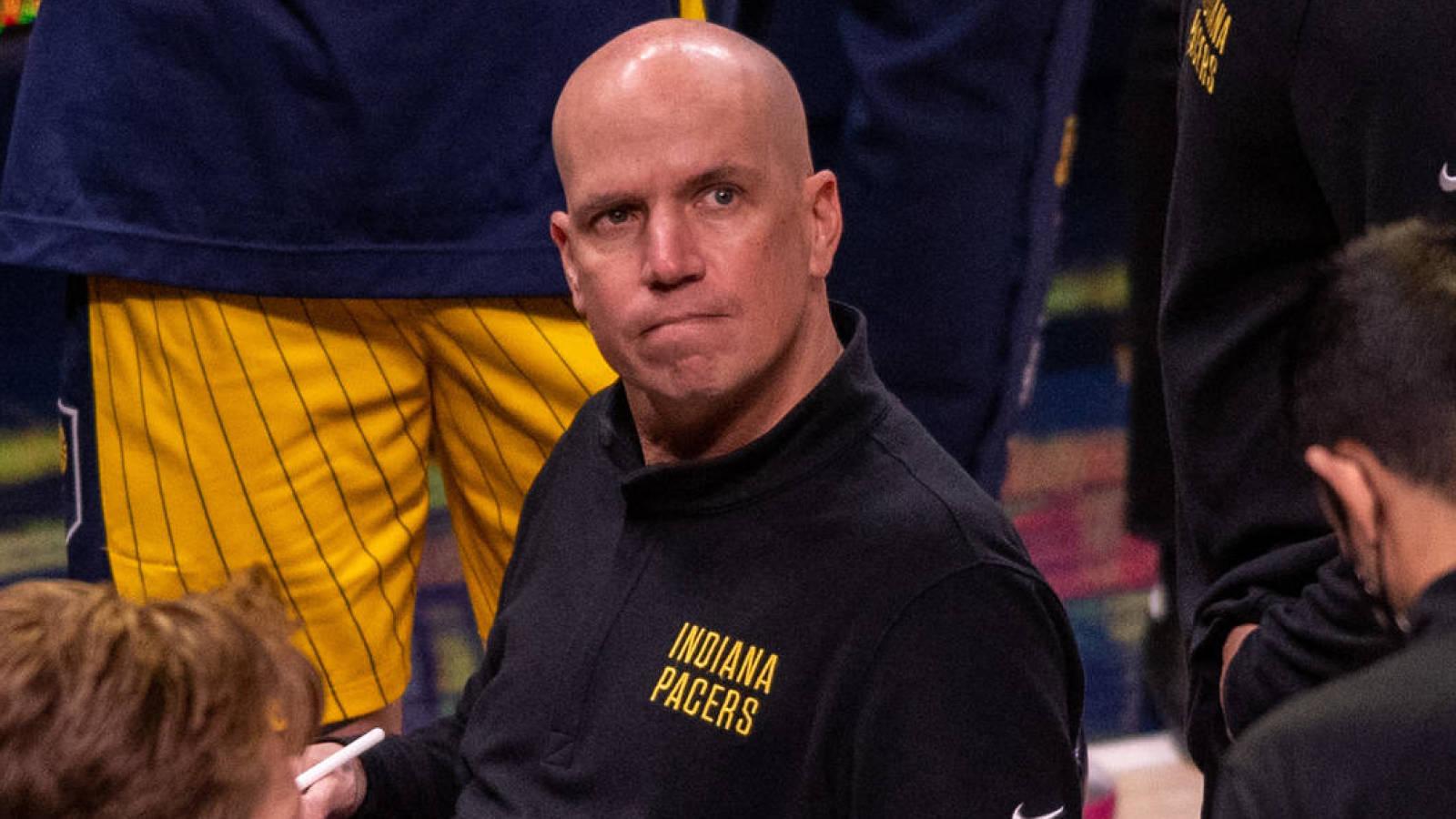 Pacers fire Nate Bjorkgren as head coach