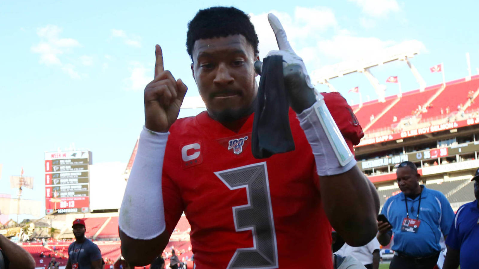Report: Buccaneers considering two-year contract for Jameis Winston
