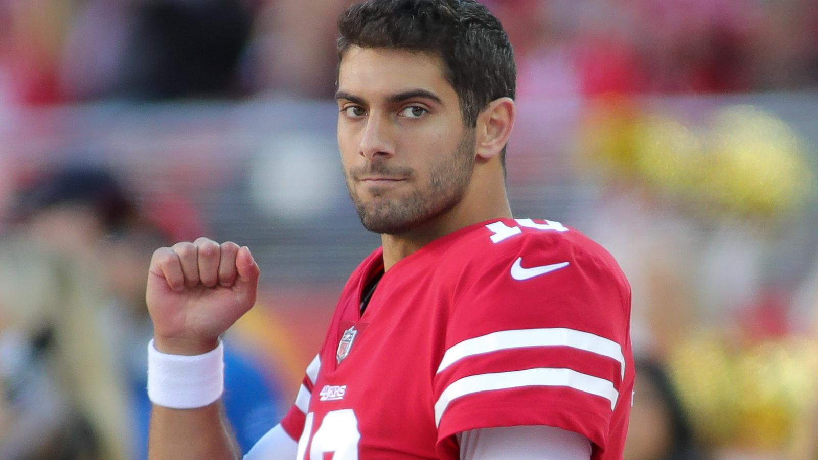 Nascar Racing Games >> The 49ers' future begins now with Jimmy Garoppolo | Yardbarker.com