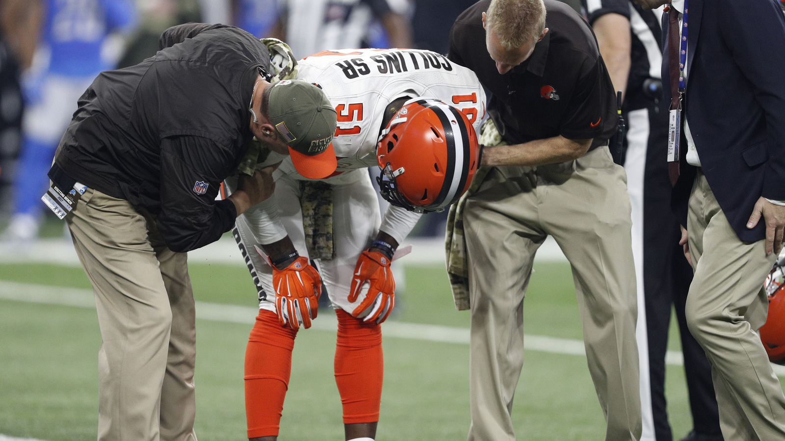 Browns LB Jamie Collins out for season with torn MCL
