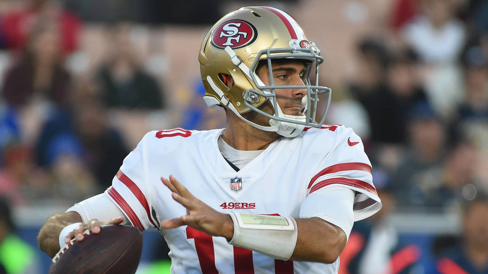 Former 49ers Qb Wants Team To Give Jimmy Garoppolo Blank