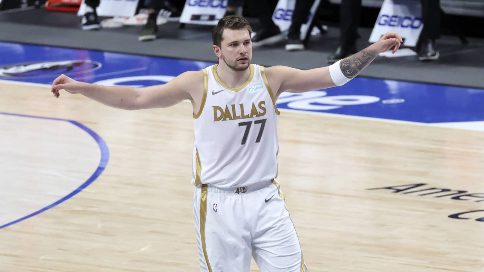 Mavs star Luka Doncic honored with his own day in Dallas County